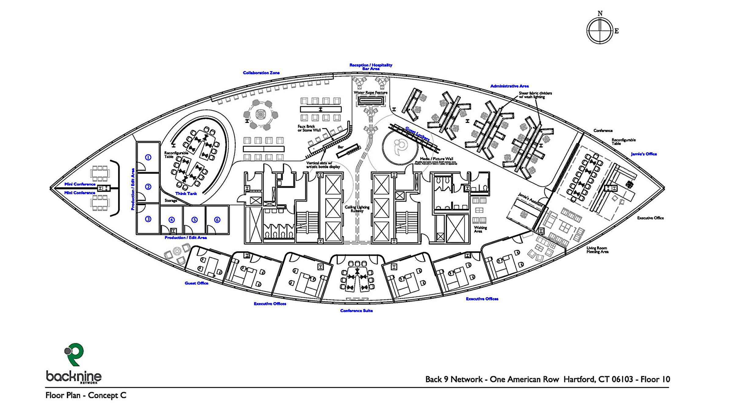 Back9 plans core design group for Blueprint drawing program