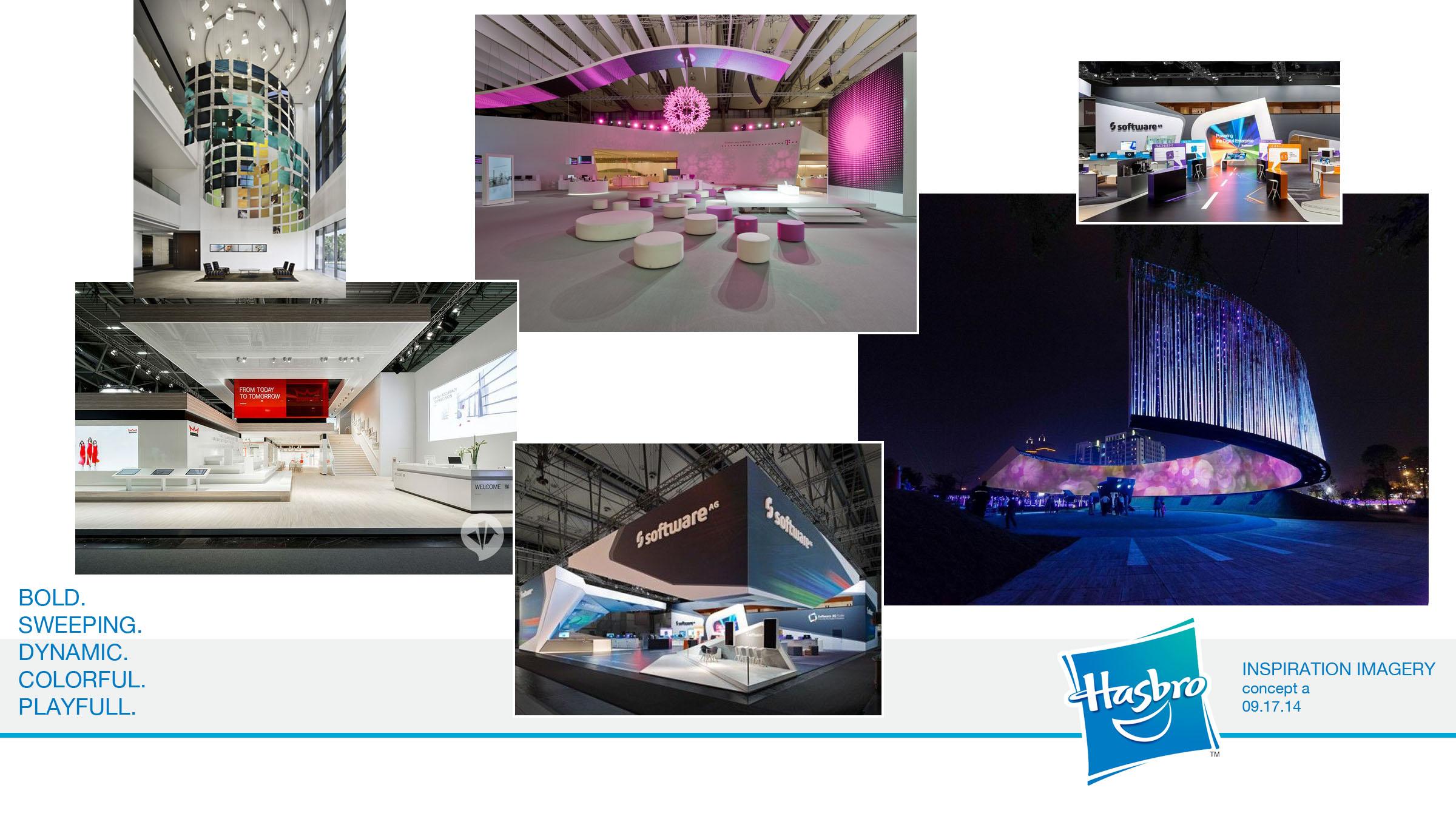 Freelance Exhibition Stand Design : Hasbro core design group freelance exhibit