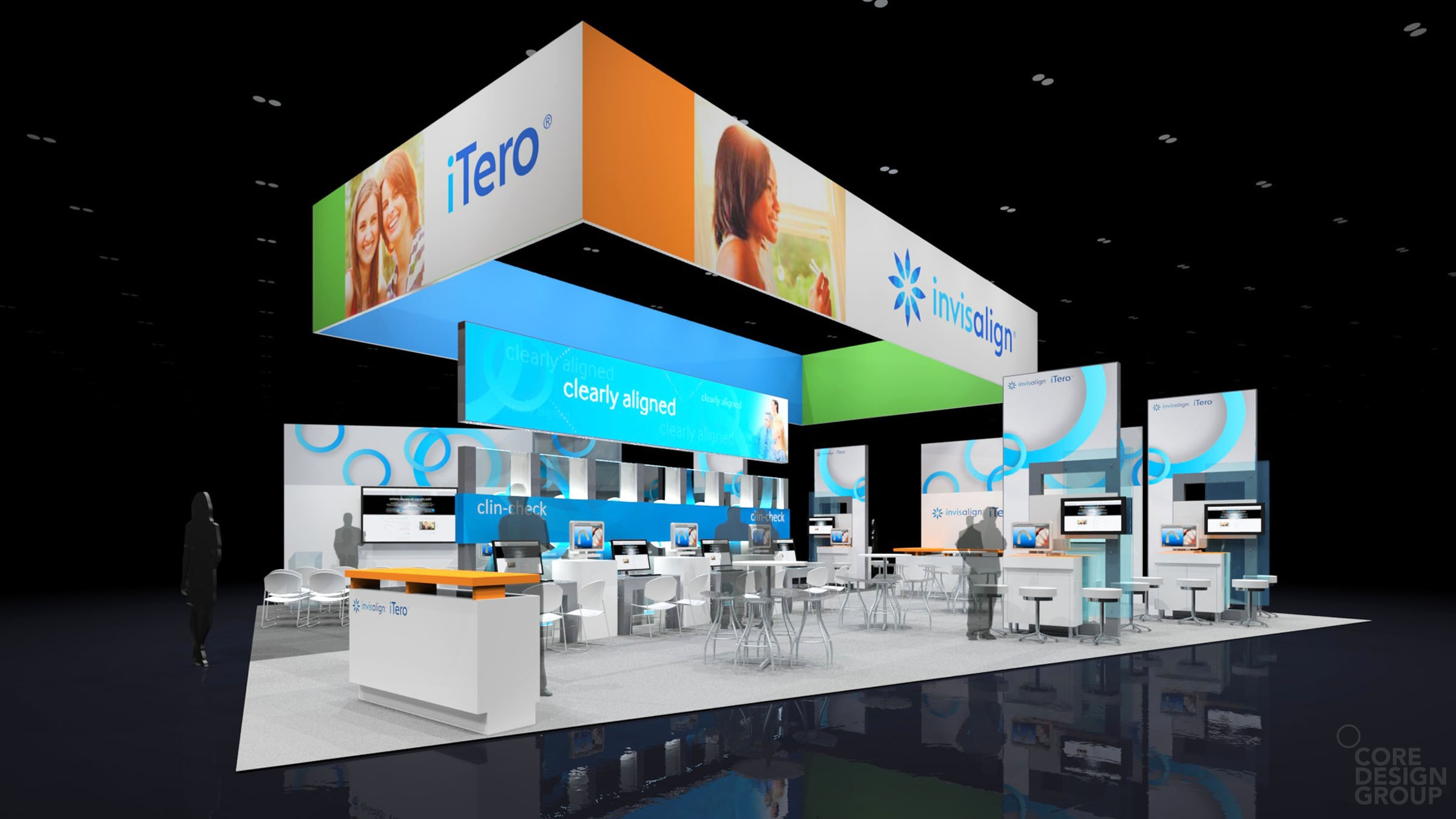 Freelance Exhibition Stand Design : Exhibits portfolio core design group freelance exhibit