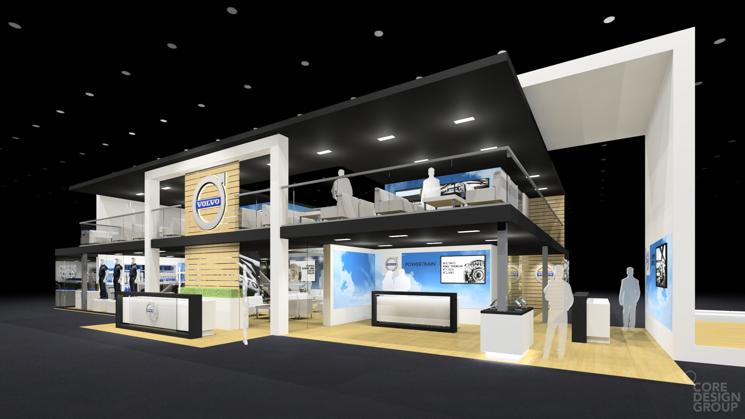 Freelance Exhibition Stand Design : Volvo core design group