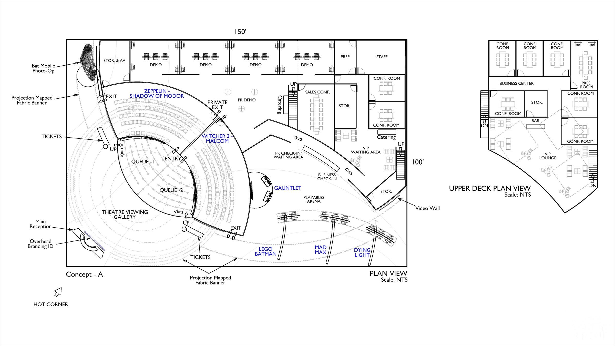 Core Design Process Floor Plans 1